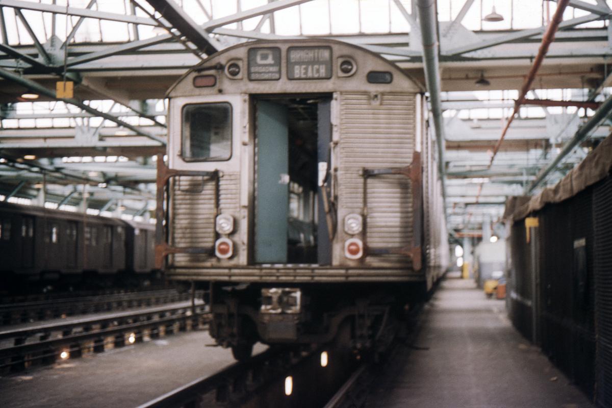 (390k, 1044x705)<br><b>Country:</b> United States<br><b>City:</b> New York<br><b>System:</b> New York City Transit<br><b>Location:</b> Coney Island Shop/Overhaul & Repair Shop<br><b>Car:</b> R-32 (Budd, 1964)  3735 <br><b>Collection of:</b> David Pirmann<br><b>Date:</b> 4/9/1966<br><b>Viewed (this week/total):</b> 3 / 3994