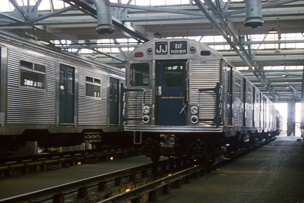 (366k, 1024x683)<br><b>Country:</b> United States<br><b>City:</b> New York<br><b>System:</b> New York City Transit<br><b>Location:</b> Coney Island Shop/Overhaul & Repair Shop<br><b>Car:</b> R-32 (Budd, 1964)  3742 <br><b>Collection of:</b> David Pirmann<br><b>Date:</b> 6/20/1965<br><b>Viewed (this week/total):</b> 1 / 4286