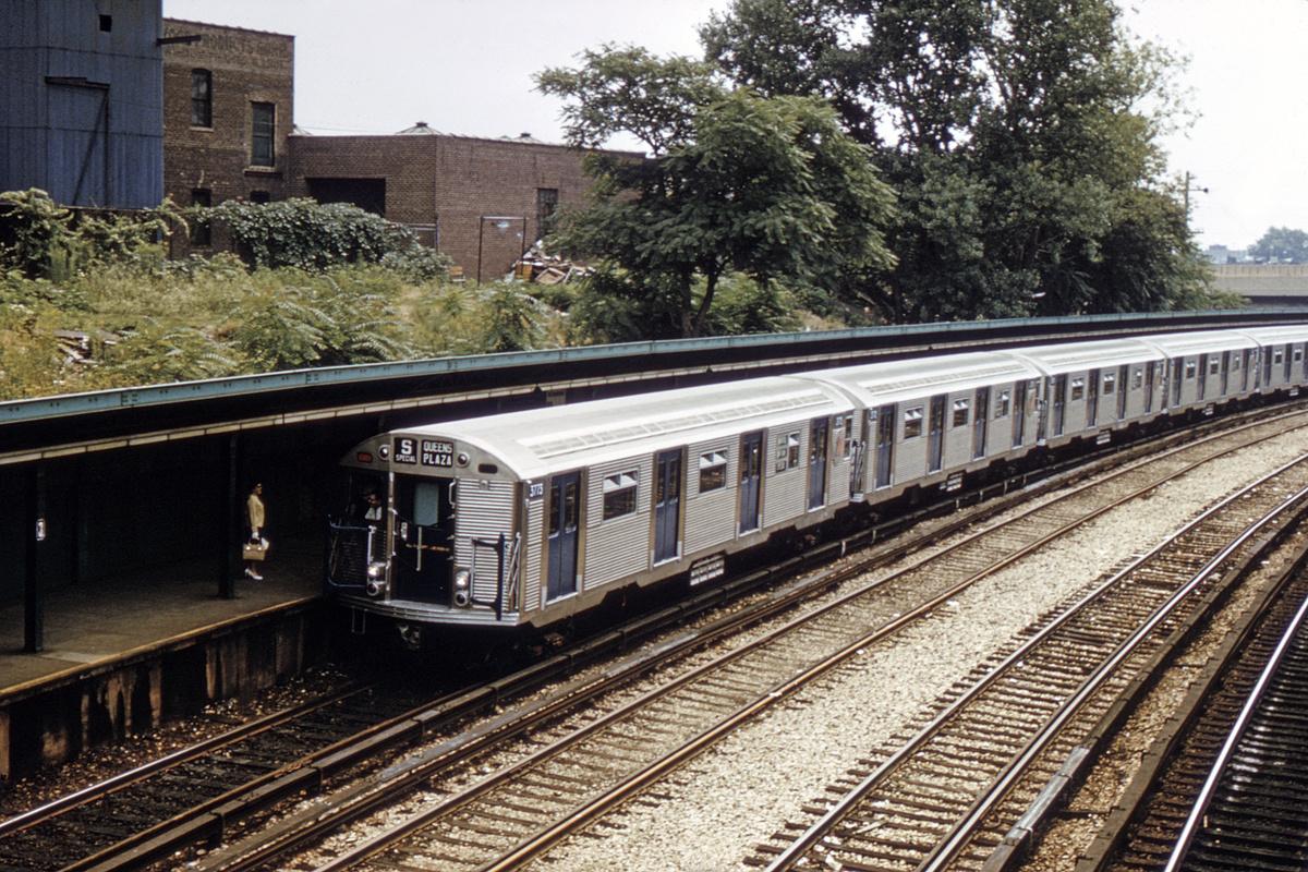 (565k, 1024x688)<br><b>Country:</b> United States<br><b>City:</b> New York<br><b>System:</b> New York City Transit<br><b>Line:</b> BMT Sea Beach Line<br><b>Location:</b> 8th Avenue <br><b>Route:</b> N<br><b>Car:</b> R-32 (Budd, 1964)  3773 <br><b>Collection of:</b> David Pirmann<br><b>Date:</b> 7/22/1965<br><b>Viewed (this week/total):</b> 1 / 4232