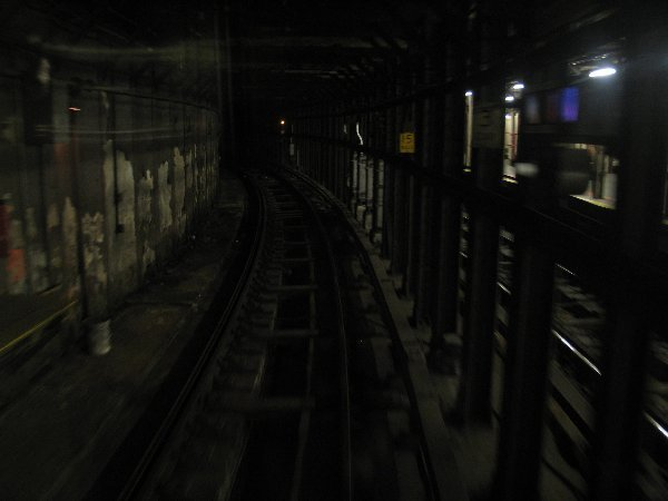 (31k, 600x450)<br><b>Country:</b> United States<br><b>City:</b> New York<br><b>System:</b> New York City Transit<br><b>Line:</b> IRT Times Square-Grand Central Shuttle<br><b>Location:</b> Times Square <br><b>Photo by:</b> The NX<br><b>Date:</b> 3/1/2010<br><b>Notes:</b> Shuttle rolling stock transfer - Wheels turning on Track 4 heading onto the main line.<br><b>Viewed (this week/total):</b> 1 / 998