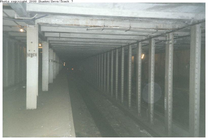 (46k, 820x552)<br><b>Country:</b> United States<br><b>City:</b> New York<br><b>System:</b> New York City Transit<br><b>Line:</b> IND Crosstown Line<br><b>Location:</b> Bergen Street-Lower Level<br><b>Photo by:</b> Shadow/Devo/Track 7<br><b>Date:</b> 11/2000<br><b>Viewed (this week/total):</b> 3 / 14980