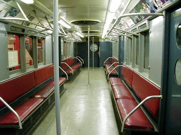 (94k, 600x450)<br><b>Country:</b> United States<br><b>City:</b> New York<br><b>System:</b> New York City Transit<br><b>Location:</b> New York Transit Museum<br><b>Car:</b> R-15 (American Car & Foundry, 1950) 6239 <br><b>Photo by:</b> Trevor Logan<br><b>Date:</b> 11/29/2001<br><b>Viewed (this week/total):</b> 0 / 5041