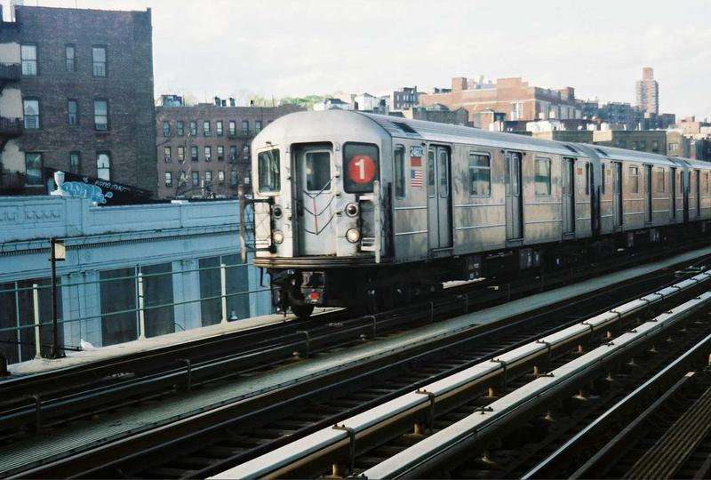 (74k, 800x540)<br><b>Country:</b> United States<br><b>City:</b> New York<br><b>System:</b> New York City Transit<br><b>Line:</b> IRT West Side Line<br><b>Location:</b> 207th Street <br><b>Route:</b> 1<br><b>Car:</b> R-62A (Bombardier, 1984-1987)  2460 <br><b>Photo by:</b> Gary Chatterton<br><b>Date:</b> 5/1/2005<br><b>Viewed (this week/total):</b> 1 / 2952