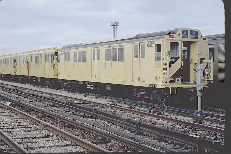 (134k, 768x512)<br><b>Country:</b> United States<br><b>City:</b> New York<br><b>System:</b> New York City Transit<br><b>Location:</b> Coney Island Yard<br><b>Car:</b> R-12 (American Car & Foundry, 1948) 35802 (ex-5802)<br><b>Collection of:</b> Joe Testagrose<br><b>Viewed (this week/total):</b> 1 / 2280