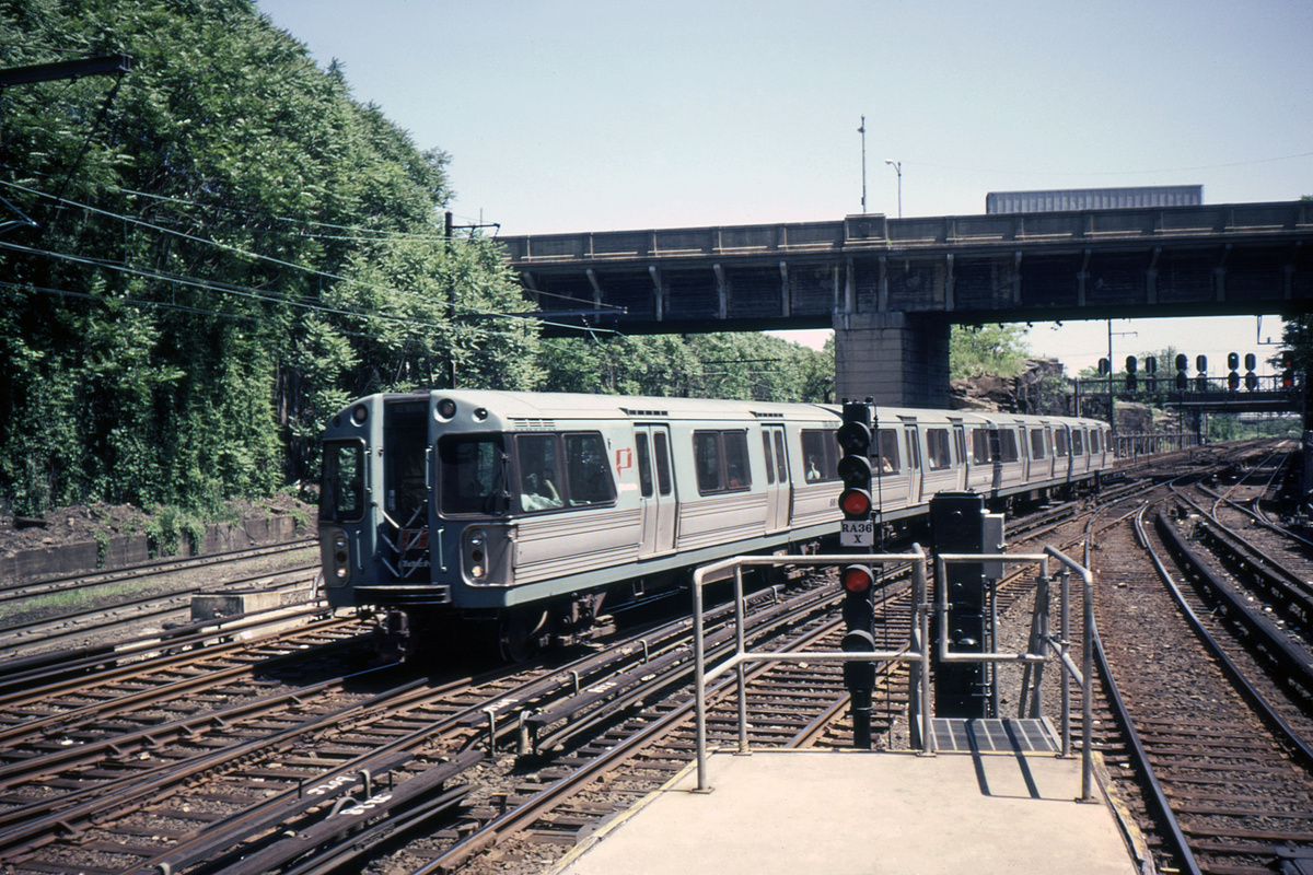 (553k, 1024x683)<br><b>Country:</b> United States<br><b>City:</b> Jersey City, NJ<br><b>System:</b> PATH<br><b>Location:</b> Journal Square <br><b>Car:</b> PATH PA-1 (St. Louis Car, 1965)  681 <br><b>Photo by:</b> Steve Hoskins<br><b>Collection of:</b> David Pirmann<br><b>Date:</b> 8/1979<br><b>Viewed (this week/total):</b> 4 / 5059