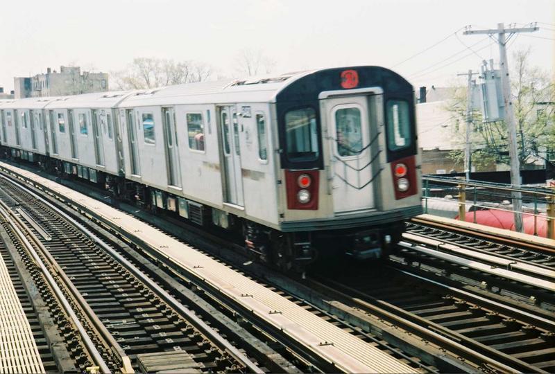 (86k, 800x540)<br><b>Country:</b> United States<br><b>City:</b> New York<br><b>System:</b> New York City Transit<br><b>Line:</b> IRT White Plains Road Line<br><b>Location:</b> 238th Street (Nereid Avenue) <br><b>Route:</b> 2<br><b>Car:</b> R-142 (Primary Order, Bombardier, 1999-2002)  6490 <br><b>Photo by:</b> Gary Chatterton<br><b>Date:</b> 5/1/2005<br><b>Viewed (this week/total):</b> 0 / 4416
