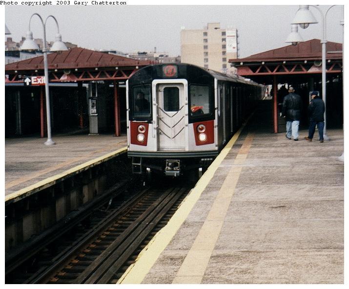 (69k, 715x591)<br><b>Country:</b> United States<br><b>City:</b> New York<br><b>System:</b> New York City Transit<br><b>Line:</b> IRT Woodlawn Line<br><b>Location:</b> Burnside Avenue <br><b>Route:</b> 4<br><b>Car:</b> R-142A (Option Order, Kawasaki, 2002-2003)  7690 <br><b>Photo by:</b> Gary Chatterton<br><b>Date:</b> 4/2/2003<br><b>Viewed (this week/total):</b> 3 / 6879