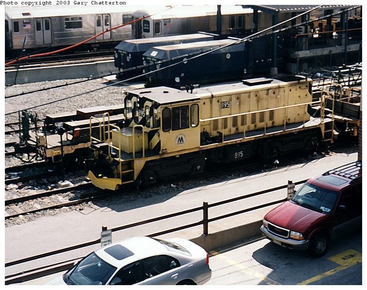 (101k, 755x596)<br><b>Country:</b> United States<br><b>City:</b> New York<br><b>System:</b> New York City Transit<br><b>Location:</b> Corona Yard<br><b>Car:</b> R-77 Locomotive  895 <br><b>Photo by:</b> Gary Chatterton<br><b>Date:</b> 4/24/2003<br><b>Viewed (this week/total):</b> 0 / 2391