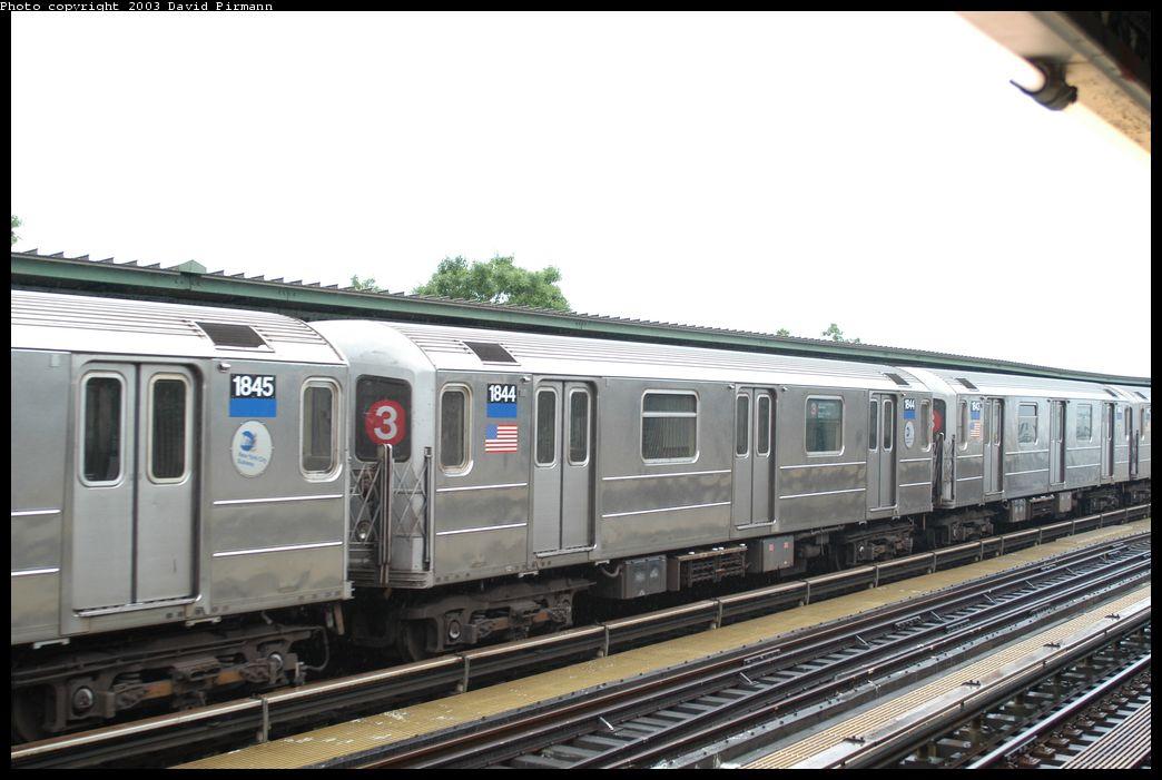 (160k, 1044x701)<br><b>Country:</b> United States<br><b>City:</b> New York<br><b>System:</b> New York City Transit<br><b>Line:</b> IRT Brooklyn Line<br><b>Location:</b> Junius Street <br><b>Route:</b> 3<br><b>Car:</b> R-62A (Bombardier, 1984-1987)  1844 <br><b>Photo by:</b> David Pirmann<br><b>Date:</b> 6/7/2003<br><b>Viewed (this week/total):</b> 0 / 4611