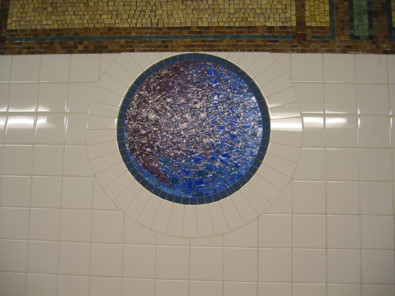 (59k, 800x600)<br><b>Country:</b> United States<br><b>City:</b> New York<br><b>System:</b> New York City Transit<br><b>Line:</b> BMT Broadway Line<br><b>Location:</b> 8th Street <br><b>Photo by:</b> Warren Sze<br><b>Date:</b> 6/13/2003<br><b>Artwork:</b> <i>Broadway Diary</i>, Tim Snell (2002).<br><b>Viewed (this week/total):</b> 0 / 2620