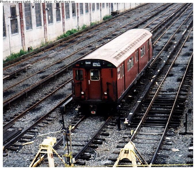 (116k, 680x591)<br><b>Country:</b> United States<br><b>City:</b> New York<br><b>System:</b> New York City Transit<br><b>Location:</b> Corona Yard<br><b>Car:</b> R-33 World's Fair (St. Louis, 1963-64) 9340 <br><b>Photo by:</b> Gary Chatterton<br><b>Date:</b> 6/2/2003<br><b>Viewed (this week/total):</b> 0 / 4323