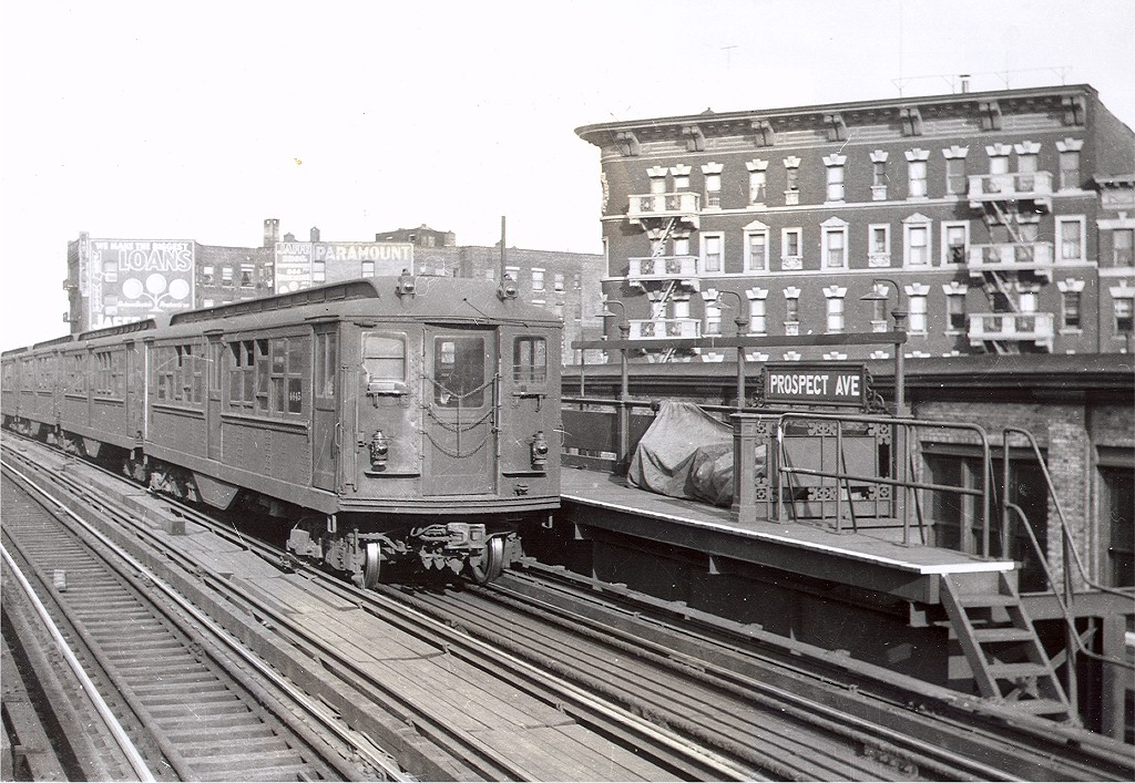 (248k, 1024x707)<br><b>Country:</b> United States<br><b>City:</b> New York<br><b>System:</b> New York City Transit<br><b>Line:</b> IRT White Plains Road Line<br><b>Location:</b> Prospect Avenue <br><b>Car:</b> Low-V 4645 <br><b>Photo by:</b> Joe Guarino Collection<br><b>Collection of:</b> Joe Testagrose<br><b>Viewed (this week/total):</b> 3 / 3503