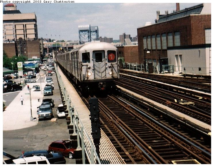 (96k, 745x581)<br><b>Country:</b> United States<br><b>City:</b> New York<br><b>System:</b> New York City Transit<br><b>Line:</b> IRT West Side Line<br><b>Location:</b> 207th Street <br><b>Route:</b> 1<br><b>Car:</b> R-62A (Bombardier, 1984-1987)  2246 <br><b>Photo by:</b> Gary Chatterton<br><b>Date:</b> 6/6/2003<br><b>Viewed (this week/total):</b> 2 / 4593