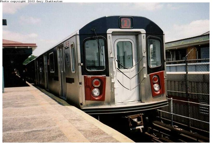 (85k, 880x601)<br><b>Country:</b> United States<br><b>City:</b> New York<br><b>System:</b> New York City Transit<br><b>Line:</b> IRT White Plains Road Line<br><b>Location:</b> East 180th Street <br><b>Route:</b> 2<br><b>Car:</b> R-142 (Primary Order, Bombardier, 1999-2002)  6546 <br><b>Photo by:</b> Gary Chatterton<br><b>Date:</b> 6/10/2003<br><b>Viewed (this week/total):</b> 1 / 4762