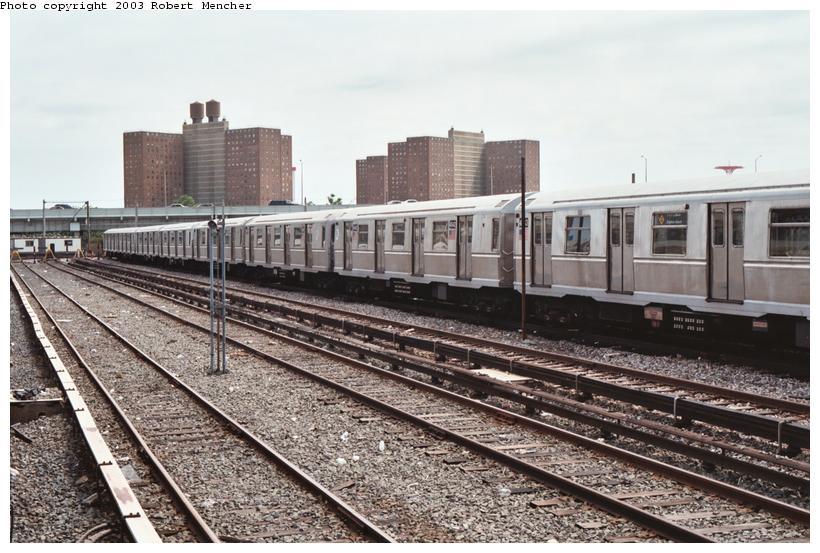 (117k, 820x553)<br><b>Country:</b> United States<br><b>City:</b> New York<br><b>System:</b> New York City Transit<br><b>Location:</b> Coney Island Yard<br><b>Car:</b> R-40M (St. Louis, 1969)  4542 <br><b>Photo by:</b> Robert Mencher<br><b>Date:</b> 6/2003<br><b>Viewed (this week/total):</b> 0 / 3279