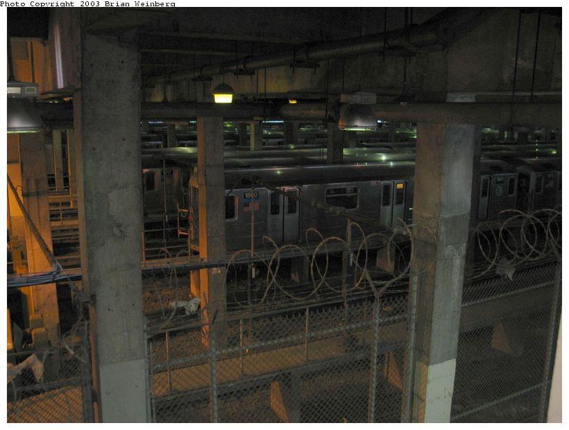 (81k, 820x620)<br><b>Country:</b> United States<br><b>City:</b> New York<br><b>System:</b> New York City Transit<br><b>Location:</b> Lenox/148th St. Yard<br><b>Photo by:</b> Brian Weinberg<br><b>Date:</b> 6/24/2003<br><b>Viewed (this week/total):</b> 10 / 6222