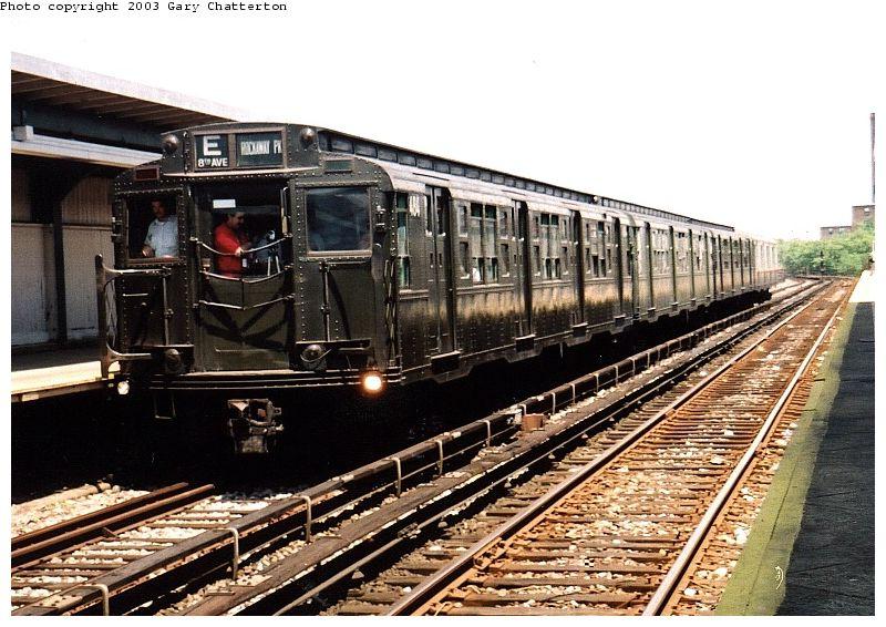 (109k, 800x566)<br><b>Country:</b> United States<br><b>City:</b> New York<br><b>System:</b> New York City Transit<br><b>Line:</b> IND Rockaway<br><b>Location:</b> Beach 90th Street/Holland <br><b>Route:</b> Fan Trip<br><b>Car:</b> R-4 (American Car & Foundry, 1932-1933) 484 <br><b>Photo by:</b> Gary Chatterton<br><b>Date:</b> 6/28/2003<br><b>Viewed (this week/total):</b> 0 / 4280