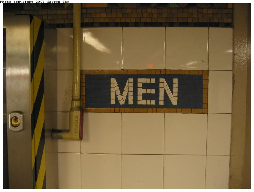 (45k, 820x620)<br><b>Country:</b> United States<br><b>City:</b> New York<br><b>System:</b> New York City Transit<br><b>Line:</b> BMT Broadway Line<br><b>Location:</b> Whitehall Street <br><b>Photo by:</b> Warren Sze<br><b>Date:</b> 7/3/2003<br><b>Notes:</b> South exit<br><b>Viewed (this week/total):</b> 5 / 2213