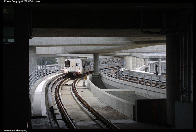 (102k, 824x557)<br><b>Country:</b> United States<br><b>City:</b> San Francisco/Bay Area, CA<br><b>System:</b> BART<br><b>Location:</b> San Francisco Int'l Airport<br><b>Photo by:</b> Eric Haas<br><b>Date:</b> 6/7/2003<br><b>Viewed (this week/total):</b> 0 / 5005