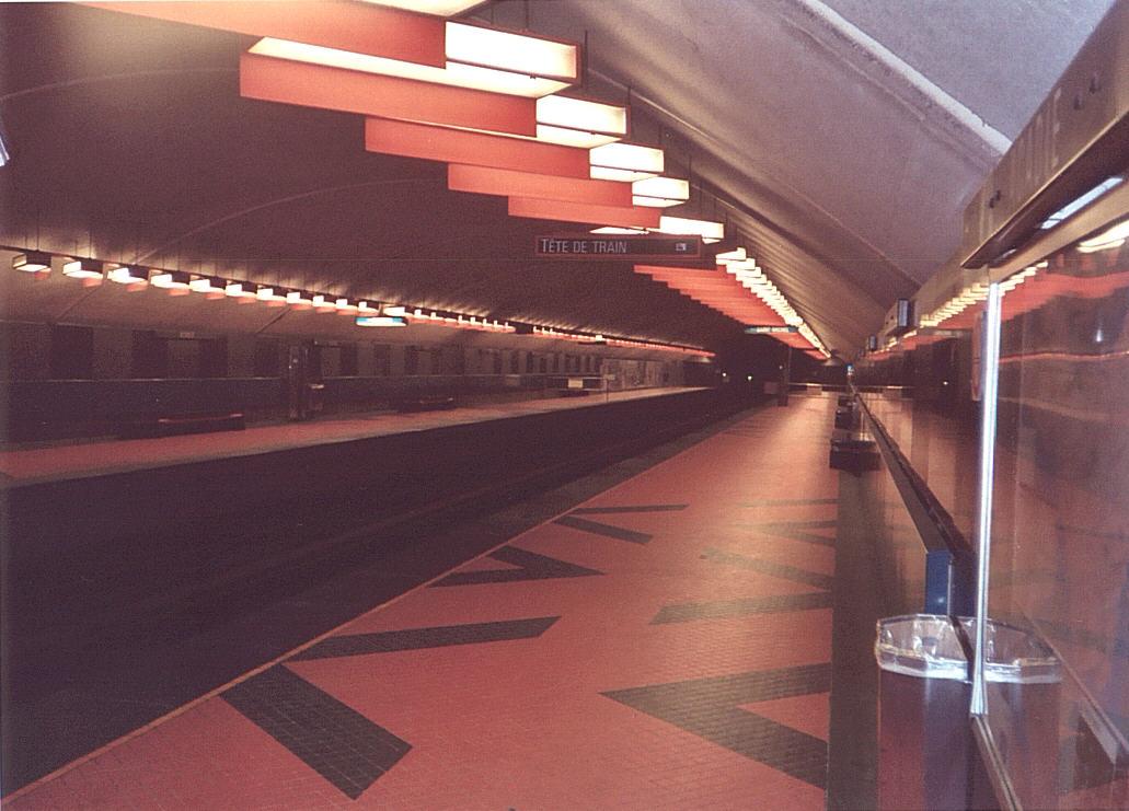 (121k, 1031x741)<br><b>Country:</b> Canada<br><b>City:</b> Montréal, Québec<br><b>System:</b> STM-Metro<br><b>Line:</b> STM Blue Line <br><b>Location:</b> Acadie <br><b>Photo by:</b> Tristan Zieley<br><b>Date:</b> 7/6/2003<br><b>Viewed (this week/total):</b> 0 / 3927