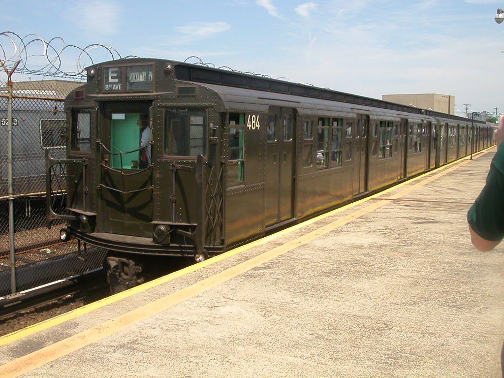 (183k, 1024x768)<br><b>Country:</b> United States<br><b>City:</b> New York<br><b>System:</b> New York City Transit<br><b>Line:</b> IND Rockaway<br><b>Location:</b> Rockaway Park/Beach 116th Street <br><b>Route:</b> Fan Trip<br><b>Car:</b> R-4 (American Car & Foundry, 1932-1933) 484 <br><b>Photo by:</b> Frank Hicks<br><b>Date:</b> 6/28/2003<br><b>Viewed (this week/total):</b> 1 / 2997