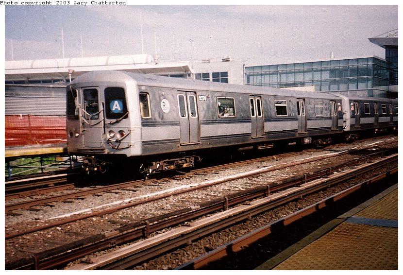(111k, 830x566)<br><b>Country:</b> United States<br><b>City:</b> New York<br><b>System:</b> New York City Transit<br><b>Line:</b> IND Rockaway<br><b>Location:</b> Howard Beach <br><b>Route:</b> A<br><b>Car:</b> R-44 (St. Louis, 1971-73) 5276 <br><b>Photo by:</b> Gary Chatterton<br><b>Date:</b> 6/28/2003<br><b>Viewed (this week/total):</b> 5 / 4049