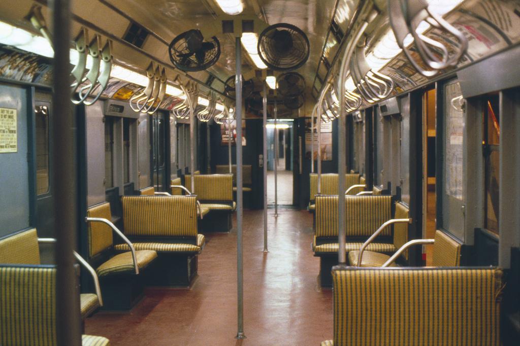 (439k, 1024x682)<br><b>Country:</b> United States<br><b>City:</b> New York<br><b>System:</b> New York City Transit<br><b>Location:</b> New York Transit Museum<br><b>Car:</b> R-7A (Pullman, 1938)  1575 <br><b>Photo by:</b> Steve Hoskins<br><b>Collection of:</b> David Pirmann<br><b>Date:</b> 8/1979<br><b>Viewed (this week/total):</b> 0 / 4258