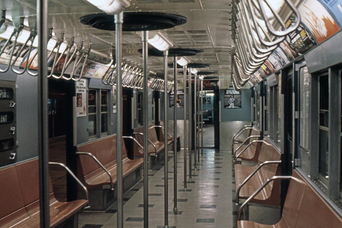 (425k, 1024x682)<br><b>Country:</b> United States<br><b>City:</b> New York<br><b>System:</b> New York City Transit<br><b>Location:</b> New York Transit Museum<br><b>Car:</b> R-30 (St. Louis, 1961) 8506 <br><b>Photo by:</b> Steve Hoskins<br><b>Collection of:</b> David Pirmann<br><b>Date:</b> 8/1979<br><b>Viewed (this week/total):</b> 0 / 4414
