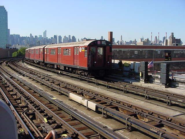 (61k, 640x480)<br><b>Country:</b> United States<br><b>City:</b> New York<br><b>System:</b> New York City Transit<br><b>Line:</b> IRT Flushing Line<br><b>Location:</b> 33rd Street/Rawson Street <br><b>Route:</b> 7<br><b>Car:</b> R-36 World's Fair (St. Louis, 1963-64) 9742 <br><b>Photo by:</b> Salaam Allah<br><b>Date:</b> 9/17/2002<br><b>Viewed (this week/total):</b> 0 / 2598
