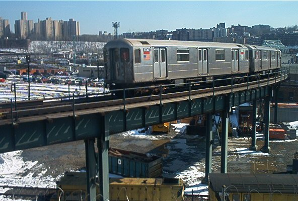 (69k, 592x400)<br><b>Country:</b> United States<br><b>City:</b> New York<br><b>System:</b> New York City Transit<br><b>Location:</b> 207th Street Yard<br><b>Car:</b> R-62A (Bombardier, 1984-1987)  1750 <br><b>Photo by:</b> Dante D. Angerville<br><b>Date:</b> 3/8/2003<br><b>Viewed (this week/total):</b> 1 / 5815