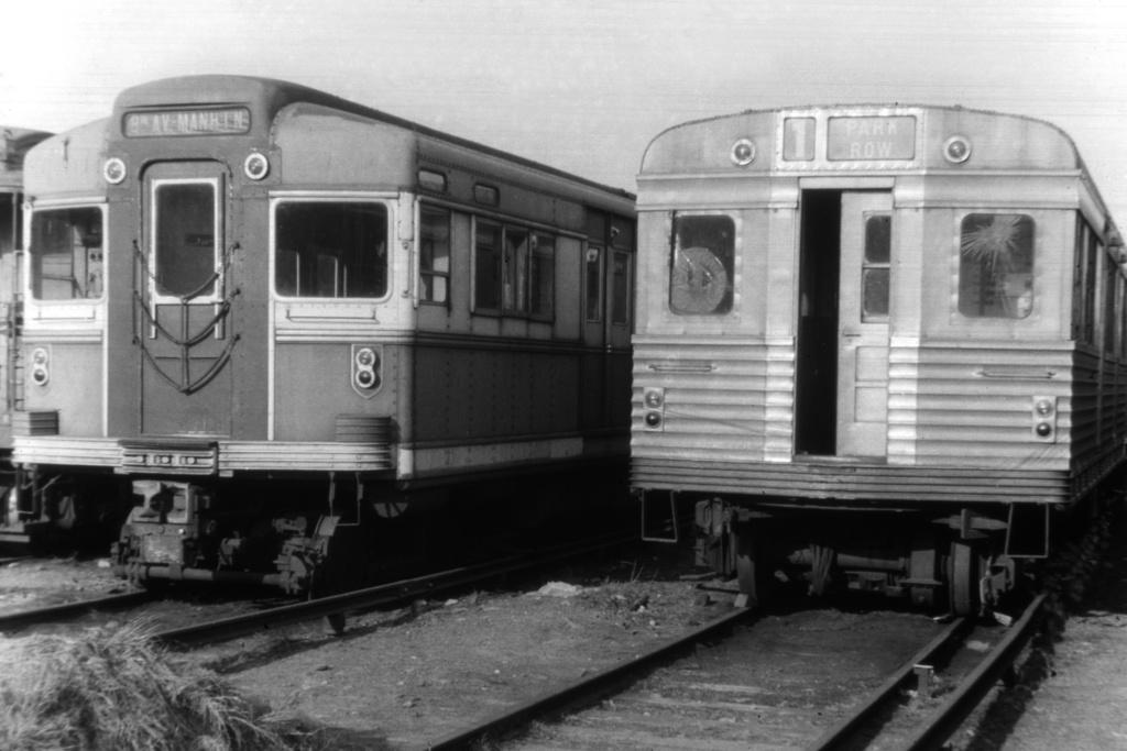 (200k, 1024x683)<br><b>Country:</b> United States<br><b>City:</b> New York<br><b>System:</b> New York City Transit<br><b>Location:</b> Fresh Pond Yard<br><b>Car:</b> BMT Bluebird  <br><b>Collection of:</b> David Pirmann<br><b>Viewed (this week/total):</b> 1 / 4599