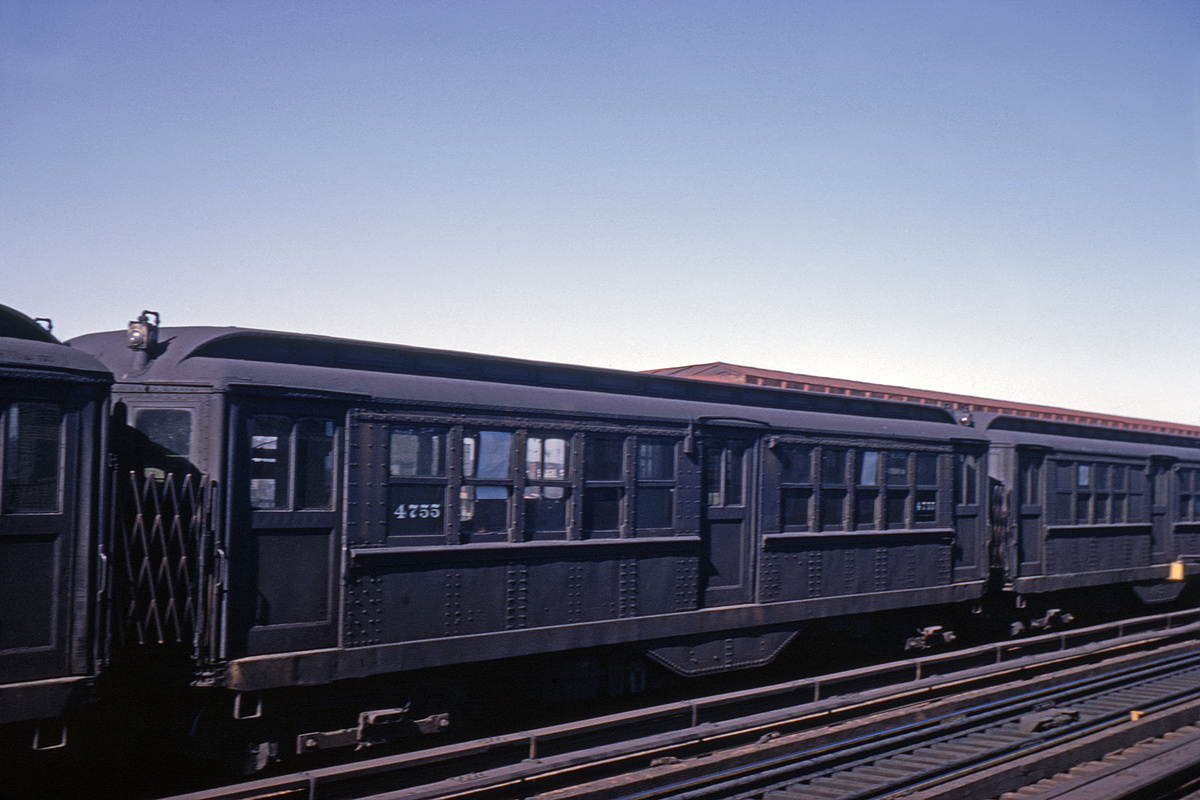 (249k, 1024x683)<br><b>Country:</b> United States<br><b>City:</b> New York<br><b>System:</b> New York City Transit<br><b>Line:</b> IRT White Plains Road Line<br><b>Location:</b> 238th Street (Nereid Avenue) <br><b>Car:</b> Low-V 4755 <br><b>Collection of:</b> David Pirmann<br><b>Date:</b> 2/16/1963<br><b>Viewed (this week/total):</b> 0 / 2924