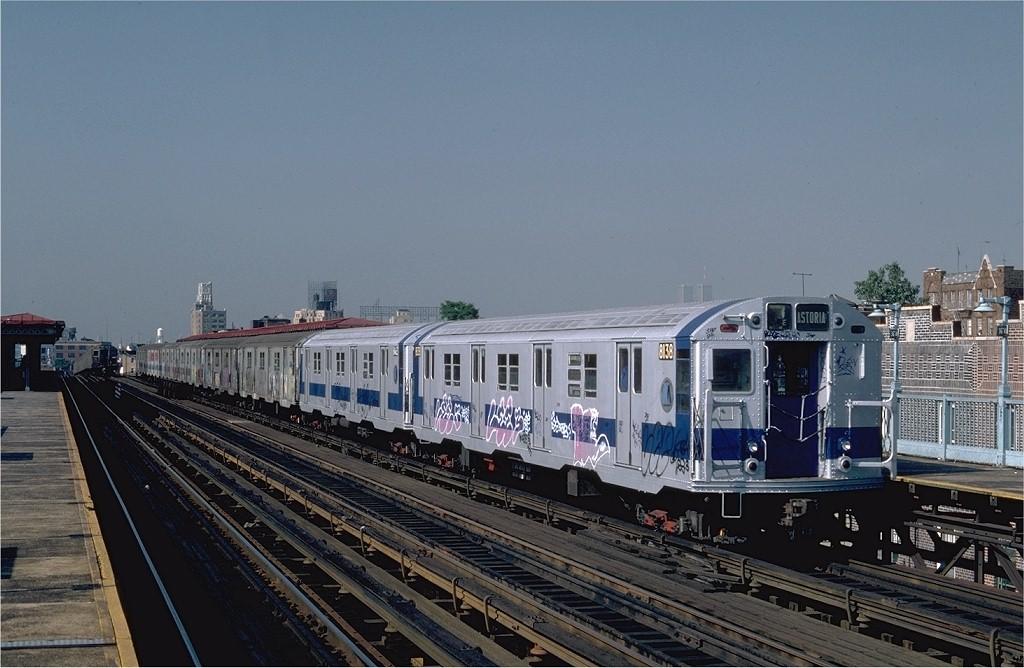 (185k, 1024x668)<br><b>Country:</b> United States<br><b>City:</b> New York<br><b>System:</b> New York City Transit<br><b>Line:</b> BMT Astoria Line<br><b>Location:</b> 36th/Washington Aves. <br><b>Route:</b> RR<br><b>Car:</b> R-27 (St. Louis, 1960)  8138 <br><b>Photo by:</b> Steve Zabel<br><b>Collection of:</b> Joe Testagrose<br><b>Date:</b> 8/13/1982<br><b>Viewed (this week/total):</b> 0 / 3521