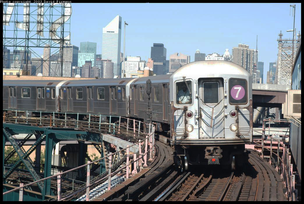 (253k, 1044x701)<br><b>Country:</b> United States<br><b>City:</b> New York<br><b>System:</b> New York City Transit<br><b>Line:</b> IRT Flushing Line<br><b>Location:</b> Queensborough Plaza <br><b>Route:</b> 7<br><b>Car:</b> R-62A (Bombardier, 1984-1987)  1795 <br><b>Photo by:</b> David Pirmann<br><b>Date:</b> 8/23/2003<br><b>Viewed (this week/total):</b> 0 / 9266