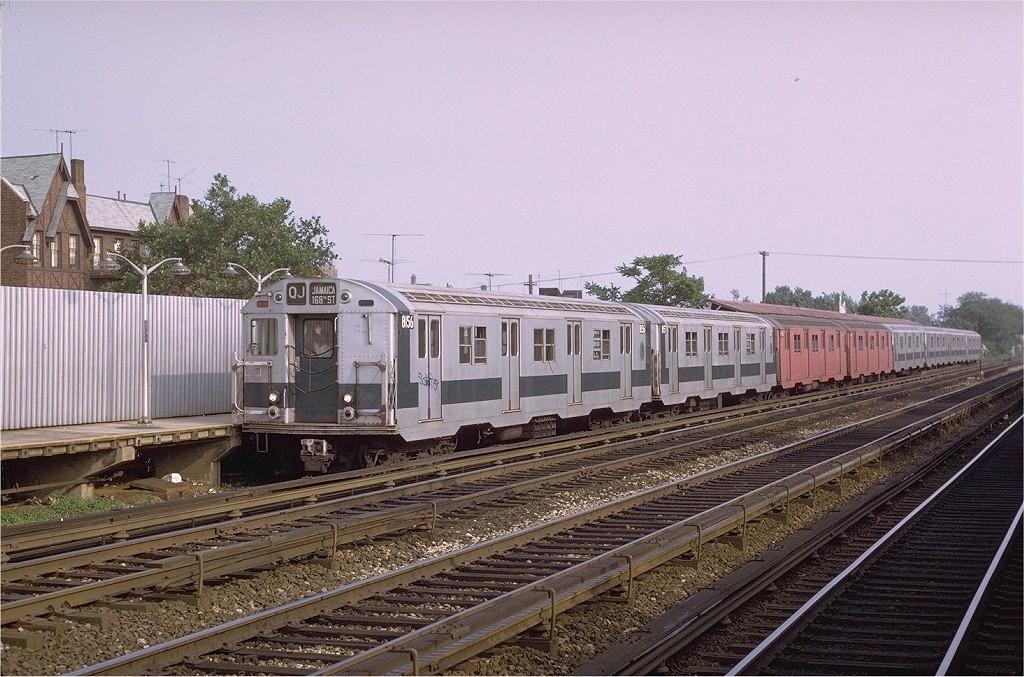 (234k, 1024x677)<br><b>Country:</b> United States<br><b>City:</b> New York<br><b>System:</b> New York City Transit<br><b>Line:</b> BMT Brighton Line<br><b>Location:</b> Avenue U <br><b>Route:</b> QJ<br><b>Car:</b> R-27 (St. Louis, 1960)  8156 <br><b>Photo by:</b> Joe Testagrose<br><b>Date:</b> 6/27/1972<br><b>Viewed (this week/total):</b> 1 / 2721