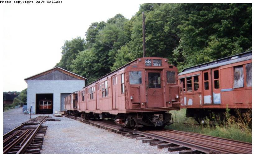 (69k, 820x505)<br><b>Country:</b> United States<br><b>City:</b> Kingston, NY<br><b>System:</b> Trolley Museum of New York <br><b>Car:</b> R-4 (American Car & Foundry, 1932-1933) 825 <br><b>Photo by:</b> David Wallace<br><b>Date:</b> 2000<br><b>Viewed (this week/total):</b> 3 / 6698