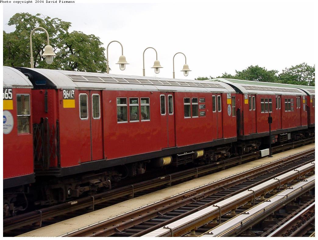 (138k, 1044x788)<br><b>Country:</b> United States<br><b>City:</b> New York<br><b>System:</b> New York City Transit<br><b>Line:</b> IRT Pelham Line<br><b>Location:</b> Westchester Square <br><b>Route:</b> 6<br><b>Car:</b> R-29 (St. Louis, 1962) 8603 <br><b>Photo by:</b> David Pirmann<br><b>Date:</b> 7/29/2000<br><b>Viewed (this week/total):</b> 2 / 4431