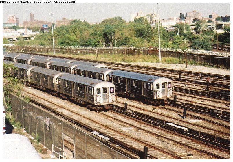 (139k, 805x561)<br><b>Country:</b> United States<br><b>City:</b> New York<br><b>System:</b> New York City Transit<br><b>Location:</b> Corona Yard<br><b>Route:</b> 7<br><b>Car:</b> R-62A (Bombardier, 1984-1987)  2061 <br><b>Photo by:</b> Gary Chatterton<br><b>Date:</b> 10/7/2003<br><b>Viewed (this week/total):</b> 2 / 4499