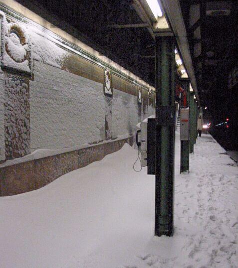(58k, 477x538)<br><b>Country:</b> United States<br><b>City:</b> New York<br><b>System:</b> New York City Transit<br><b>Line:</b> IRT Brooklyn Line<br><b>Location:</b> Borough Hall (East Side Branch) <br><b>Photo by:</b> IRTSubwaypix<br><b>Date:</b> 2/17/2003<br><b>Viewed (this week/total):</b> 1 / 4502