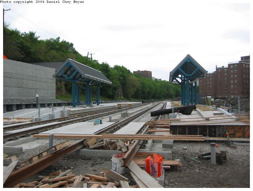 (82k, 820x620)<br><b>Country:</b> United States<br><b>City:</b> Hoboken, NJ<br><b>System:</b> Hudson Bergen Light Rail<br><b>Location:</b> 2nd Street <br><b>Photo by:</b> Daniel C. Boyar<br><b>Date:</b> 5/16/2003<br><b>Notes:</b> 2nd St. Station (facing north)<br><b>Viewed (this week/total):</b> 0 / 2811