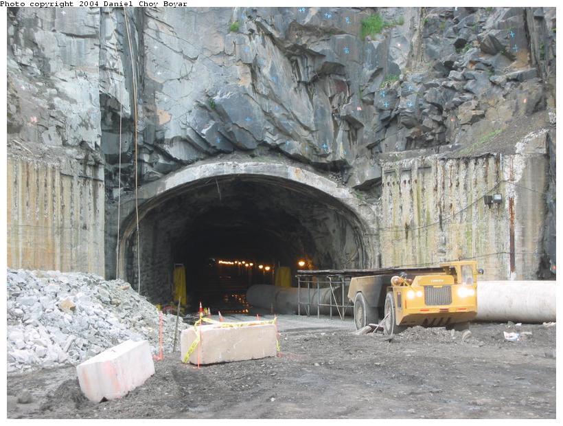 (108k, 820x620)<br><b>Country:</b> United States<br><b>City:</b> Weehawken, NJ<br><b>System:</b> Hudson Bergen Light Rail<br><b>Location:</b> Weehawken (Palisade) Tunnel (East Portal) <br><b>Photo by:</b> Daniel C. Boyar<br><b>Date:</b> 5/16/2003<br><b>Notes:</b> Palisade tunnel rehabilitation<br><b>Viewed (this week/total):</b> 2 / 5601