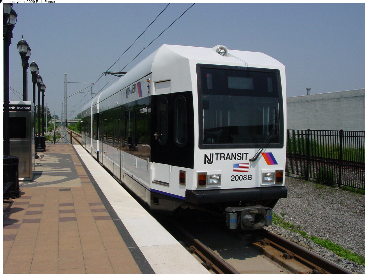 (69k, 820x620)<br><b>Country:</b> United States<br><b>City:</b> Jersey City, NJ<br><b>System:</b> Hudson Bergen Light Rail<br><b>Location:</b> Danforth Avenue <br><b>Car:</b> NJT-HBLR LRV (Kinki-Sharyo, 1998-99)  2008 <br><b>Photo by:</b> Richard Panse<br><b>Date:</b> 6/24/2003<br><b>Viewed (this week/total):</b> 0 / 3100