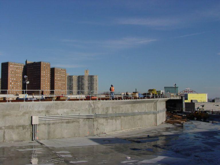 (49k, 768x576)<br><b>Country:</b> United States<br><b>City:</b> New York<br><b>System:</b> New York City Transit<br><b>Location:</b> Coney Island/Stillwell Avenue<br><b>Photo by:</b> Richard Panse<br><b>Date:</b> 2/2004<br><b>Notes:</b> View of new construction<br><b>Viewed (this week/total):</b> 0 / 2588