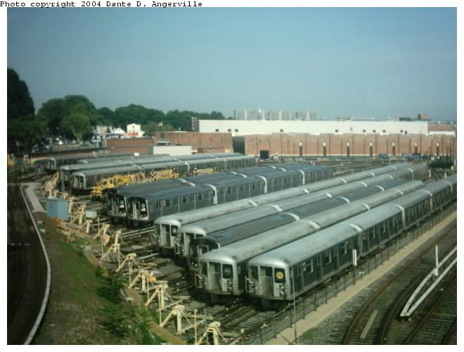 (51k, 660x500)<br><b>Country:</b> United States<br><b>City:</b> New York<br><b>System:</b> New York City Transit<br><b>Location:</b> East New York Yard/Shops<br><b>Photo by:</b> Dante D. Angerville<br><b>Date:</b> 7/24/2003<br><b>Viewed (this week/total):</b> 4 / 4826
