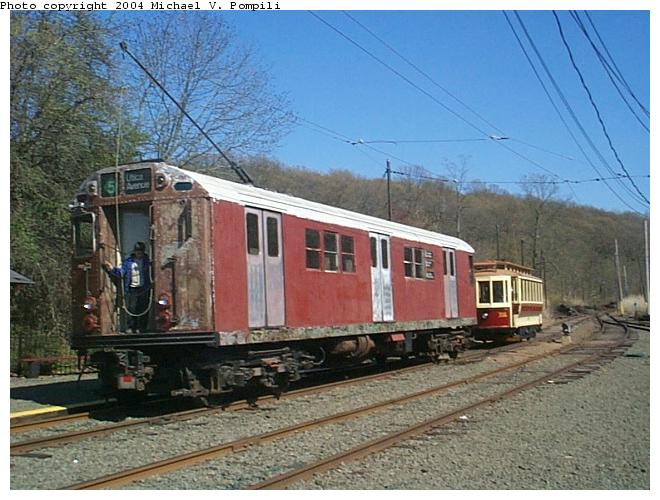 (88k, 660x500)<br><b>Country:</b> United States<br><b>City:</b> East Haven/Branford, Ct.<br><b>System:</b> Shore Line Trolley Museum <br><b>Car:</b> R-17 (St. Louis, 1955-56) 6688 <br><b>Photo by:</b> Michael Pompili<br><b>Date:</b> 4/28/2001<br><b>Viewed (this week/total):</b> 4 / 8622