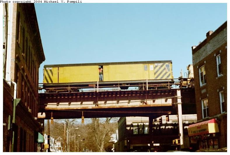 (63k, 788x532)<br><b>Country:</b> United States<br><b>City:</b> New York<br><b>System:</b> New York City Transit<br><b>Location:</b> Over 86th St. Jamaica Line<br><b>Car:</b> R-71 Rider Car (R-17/R-21/R-22 Rebuilds)  RD349 (ex-7522)<br><b>Photo by:</b> Michael Pompili<br><b>Date:</b> 1/28/2001<br><b>Viewed (this week/total):</b> 1 / 2565
