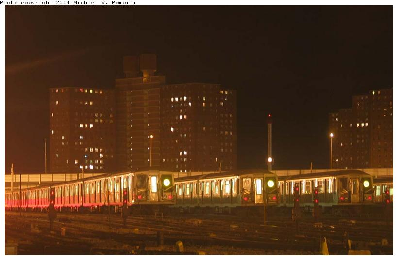 (52k, 820x537)<br><b>Country:</b> United States<br><b>City:</b> New York<br><b>System:</b> New York City Transit<br><b>Location:</b> Coney Island Yard<br><b>Car:</b> R-40 (St. Louis, 1968)   <br><b>Photo by:</b> Michael Pompili<br><b>Date:</b> 12/30/2003<br><b>Viewed (this week/total):</b> 0 / 5724
