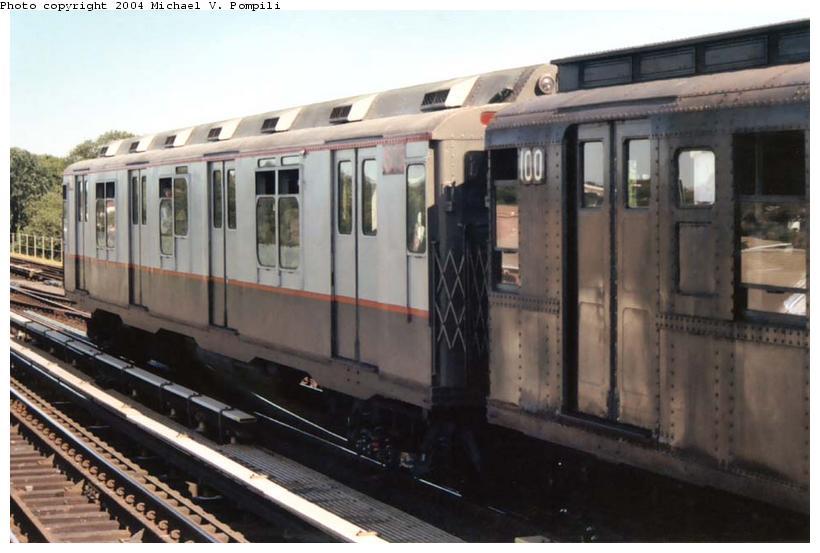 (76k, 820x553)<br><b>Country:</b> United States<br><b>City:</b> New York<br><b>System:</b> New York City Transit<br><b>Line:</b> IND Fulton Street Line<br><b>Location:</b> 80th Street/Hudson Street <br><b>Route:</b> Fan Trip<br><b>Car:</b> R-7A (Pullman, 1938)  1575 <br><b>Photo by:</b> Michael Pompili<br><b>Date:</b> 8/24/2003<br><b>Viewed (this week/total):</b> 0 / 2495