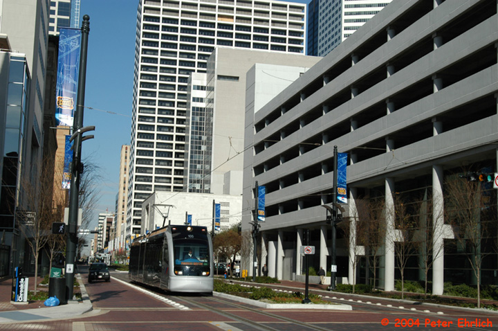 (177k, 720x478)<br><b>Country:</b> United States<br><b>City:</b> Houston, TX<br><b>System:</b> Houston METRORail<br><b>Location:</b> Main & Clay <br><b>Car:</b> Siemens Avanto 105 <br><b>Photo by:</b> Peter Ehrlich<br><b>Date:</b> 2/5/2004<br><b>Viewed (this week/total):</b> 0 / 3904