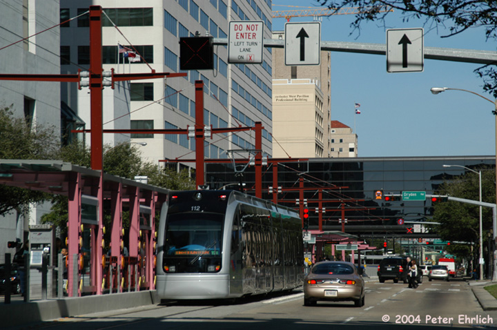 (167k, 720x478)<br><b>Country:</b> United States<br><b>City:</b> Houston, TX<br><b>System:</b> Houston METRORail<br><b>Location:</b> Dryden-TMC <br><b>Car:</b> Siemens Avanto 112 <br><b>Photo by:</b> Peter Ehrlich<br><b>Date:</b> 2/6/2004<br><b>Viewed (this week/total):</b> 5 / 3705